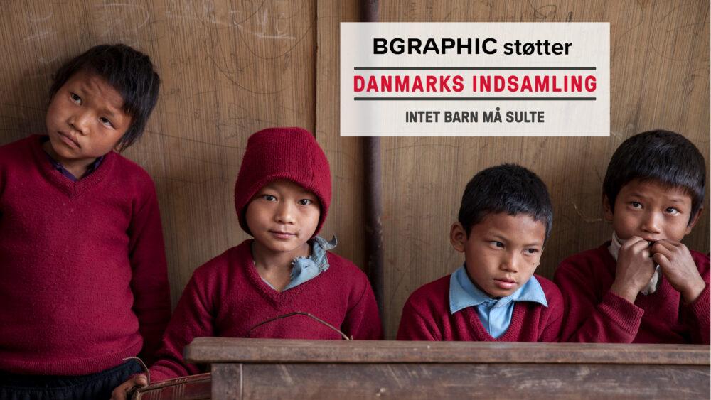 BGRAPHIC støtter Danmarks Indsamling 2017