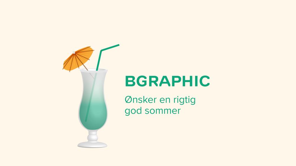 BGRAPHIC ønsker god sommer