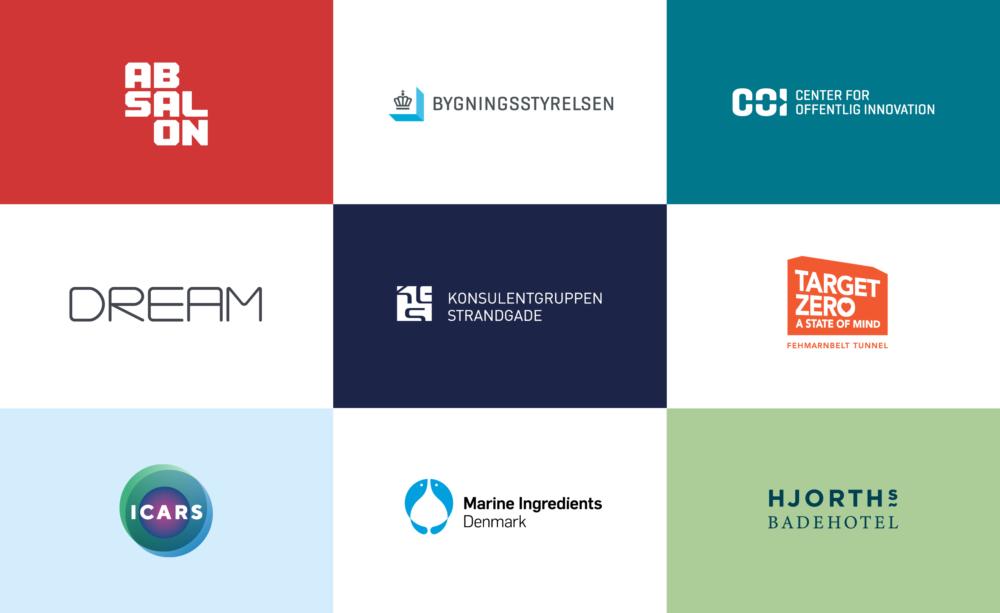 BGRAPHIC har stået for logodesign til en lang række virksomheder