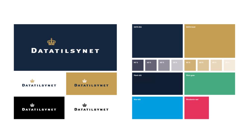 Logo og farver for Datatilsynet