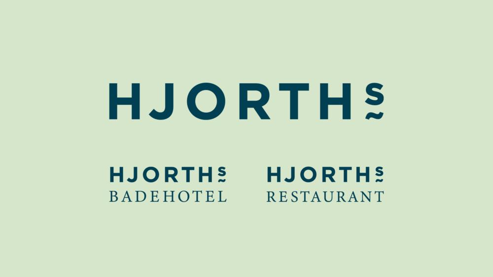 Logodesign for HJORTHs Badehotel