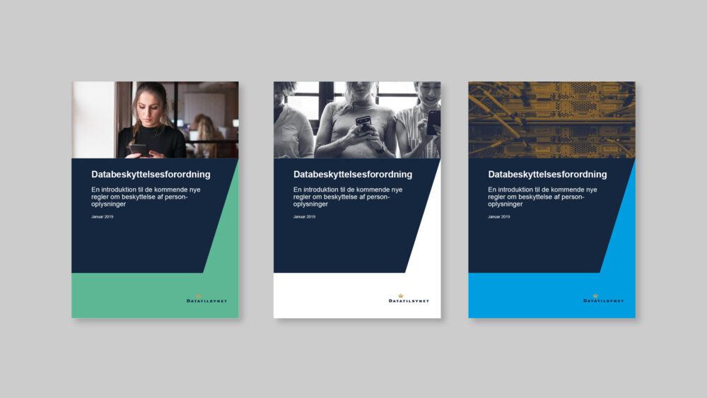 Publikationsdesign for Datatilsynet