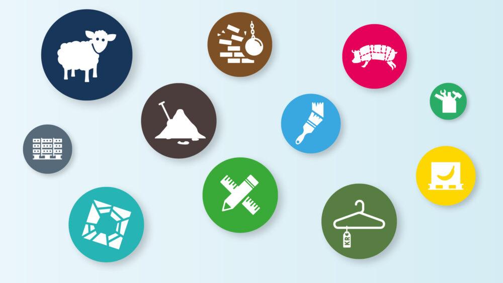 Ikoner for Miljøstyrelsen
