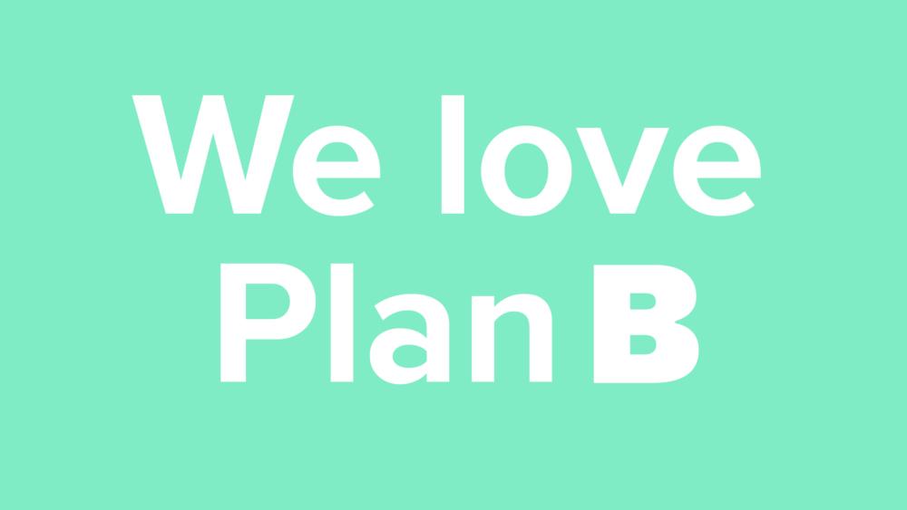 Vi elsker Plan B – BGRAPHIC-planen