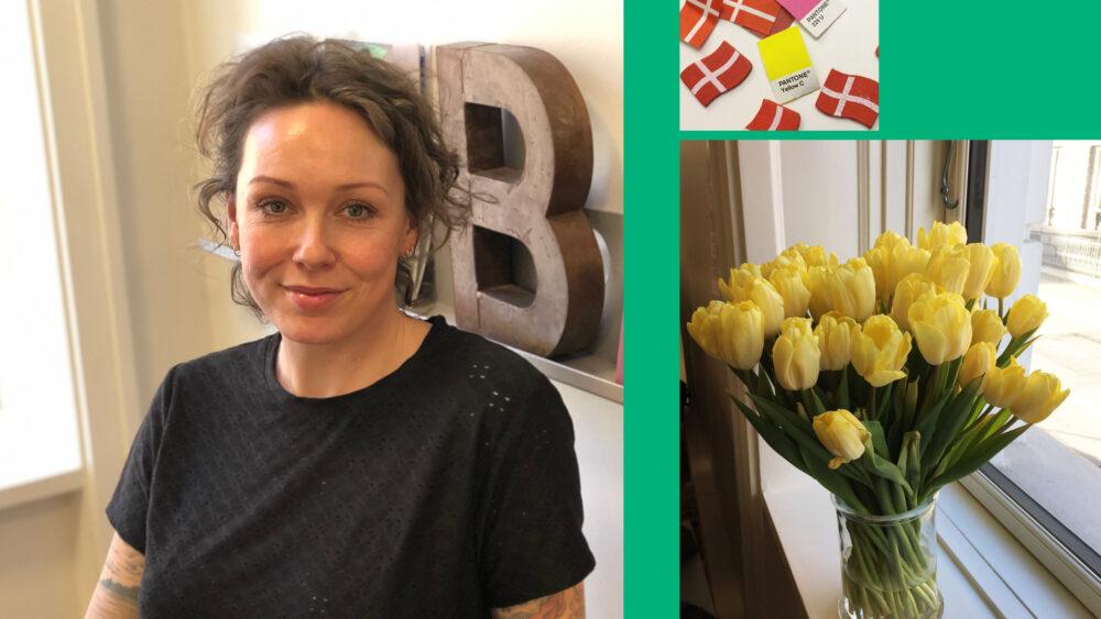 Ebba Andreasen har været hos BGRAPHIC i 10 år