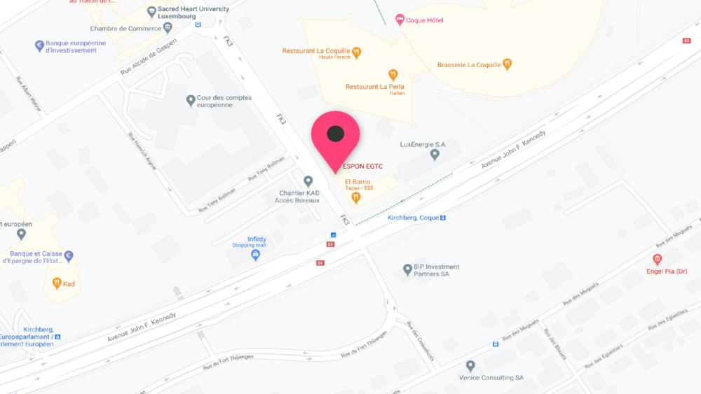 Ny designkontrakt med ESPON i Luxembourg