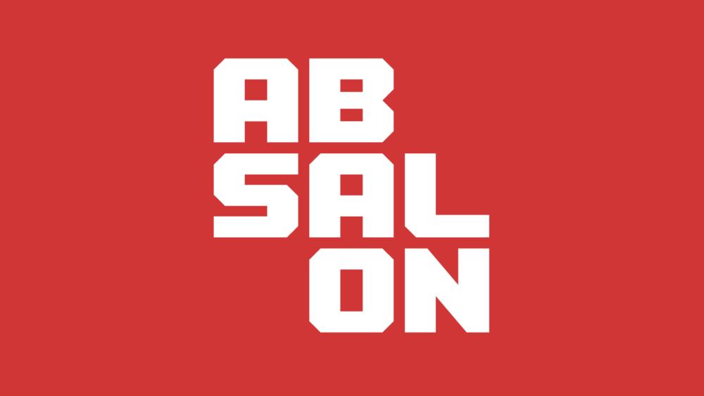 Logo og visuel identitet til Professionshøjskolen Absalon