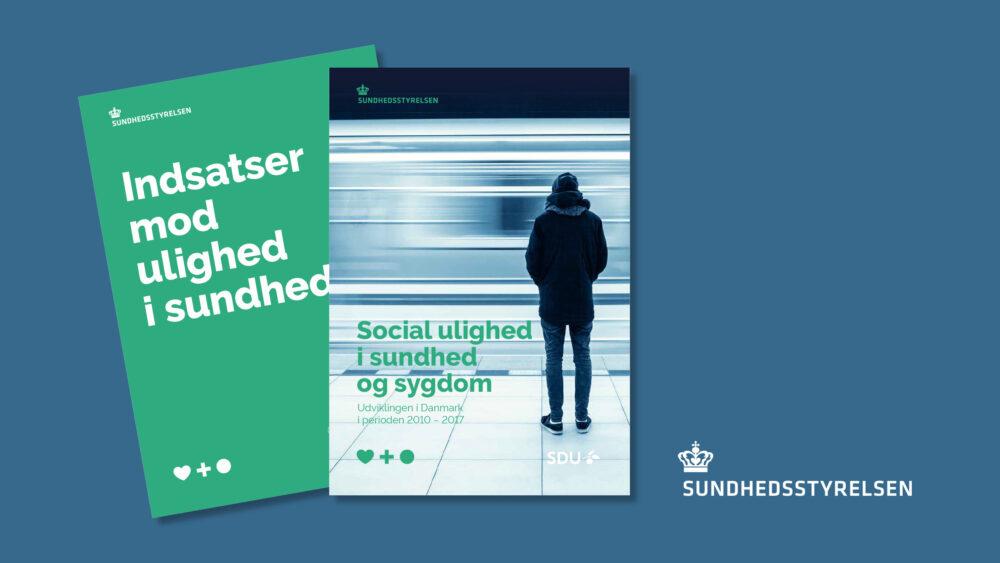 BGRAPHIC har udarbejdet design for Sundhedsstyrelsens publikationer om social ulighed og indsatser mod social ulighed