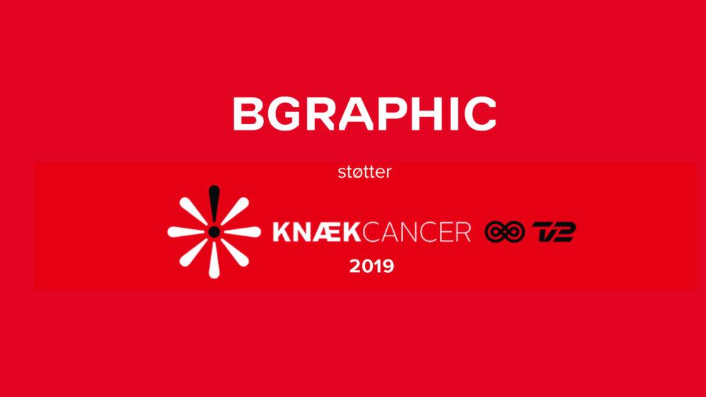 BGRAPHIC støtter Knæk Cancer 2019