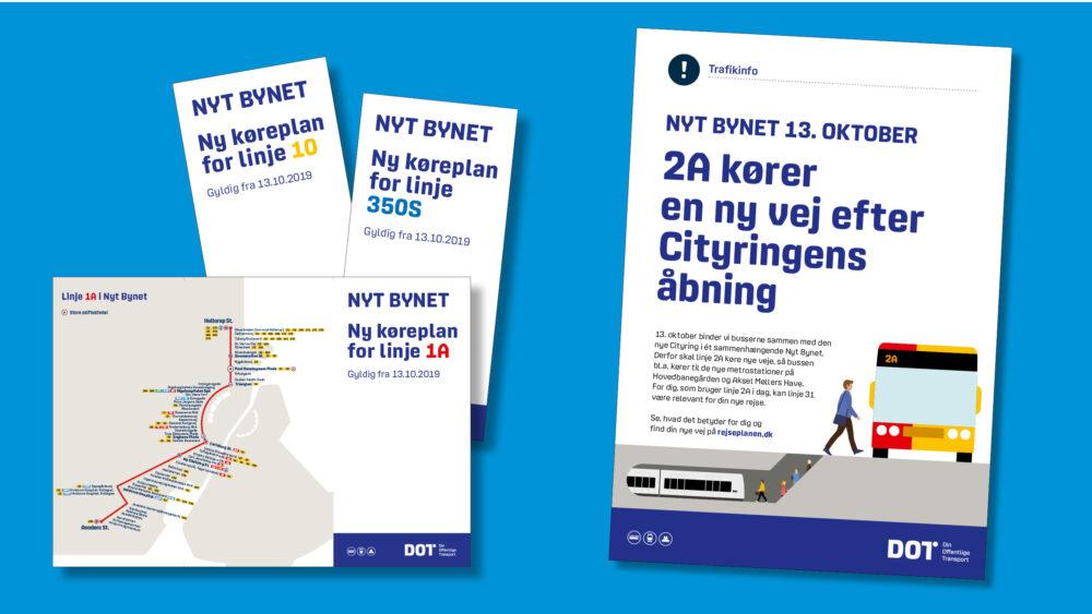 Cityringens åbning medfører ændringer i busnettet