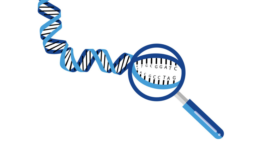 Illustration til infografik for National Genom Center