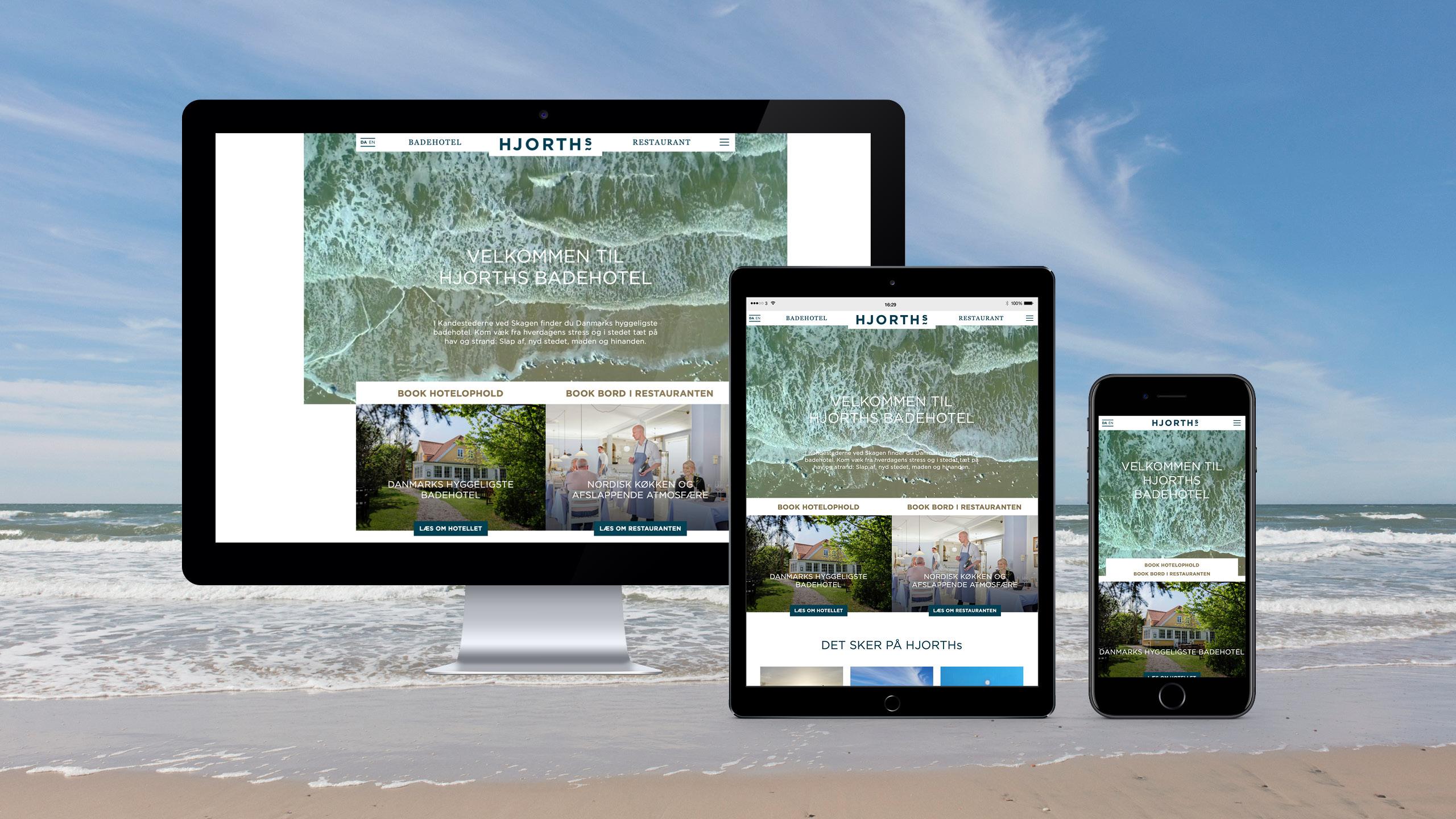 Stor_HJORTHs Badehotel_webdesign