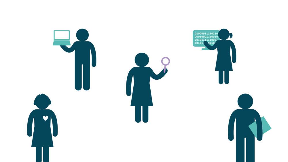 Innovative visitkort til COI, Center for Offentlig Innovation