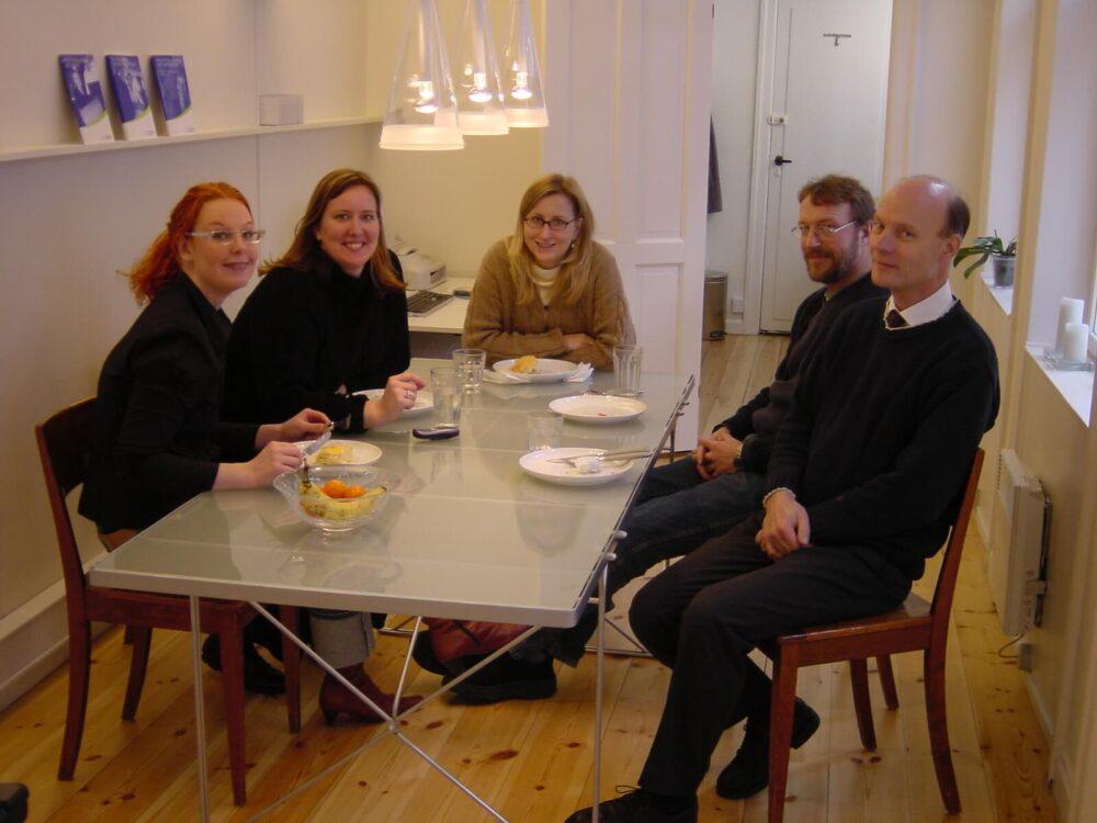 Den dag, der var 5 medarbejdere på arbejde hos BGRAPHIC