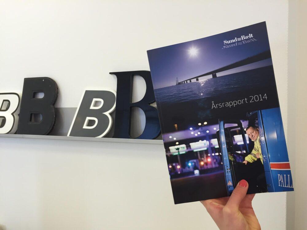 BGRAPHIC udarbejder design til mange årsrapporter