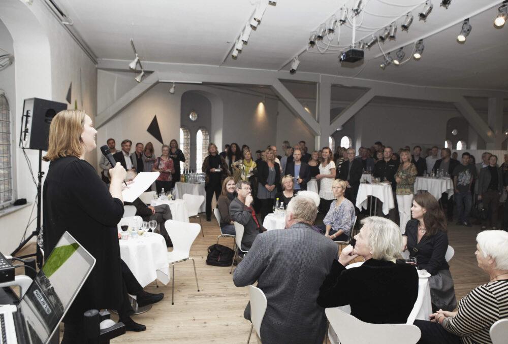 Reception i Rundetårn i forbindelse med BGRAPHICs 10-års jubilæum