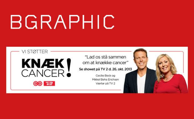 BGRAPHIC støtter Knæk Cancer