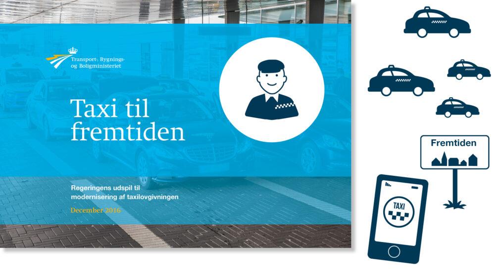 Design til udspil til taxilovgivningen for Transport-, Bygnings- og Boligministeriet