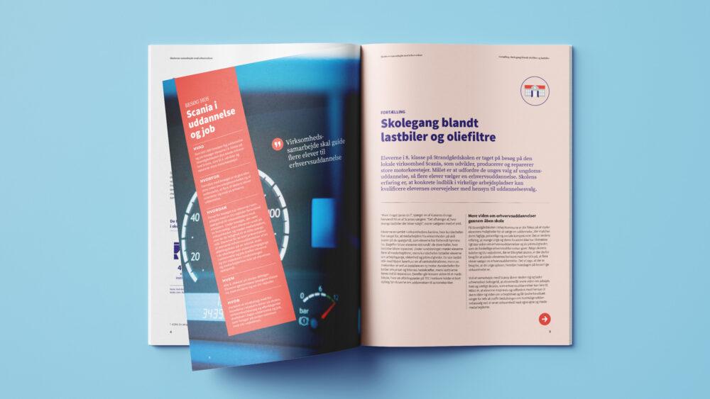 Publikationsdesign for Danmarks Evalueringsinstitut