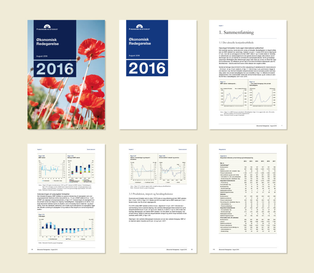 Publikationer for Finansministeriet