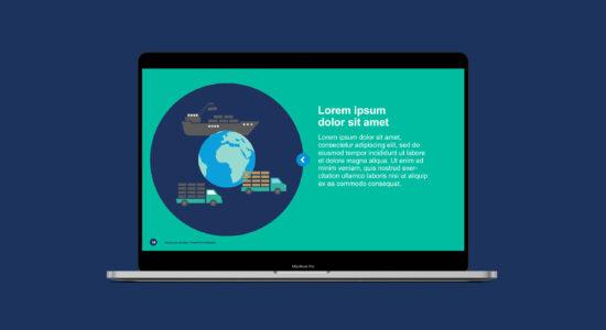 PowerPoint-skabelon for Marine Ingredients