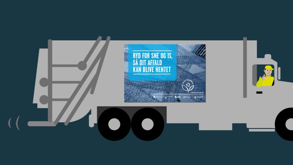 Kampagnemateriale for Vestforbrænding