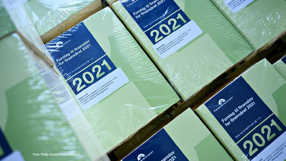 Finanslov for 2021 for Finansministeriet