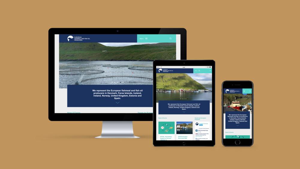 Website for Marine Ingredients