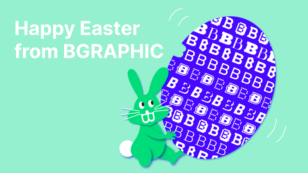 BGRAPHIC Happye easter