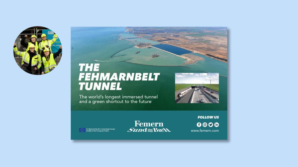 Udstilling om tunnelen under Femern Bælt – annonce