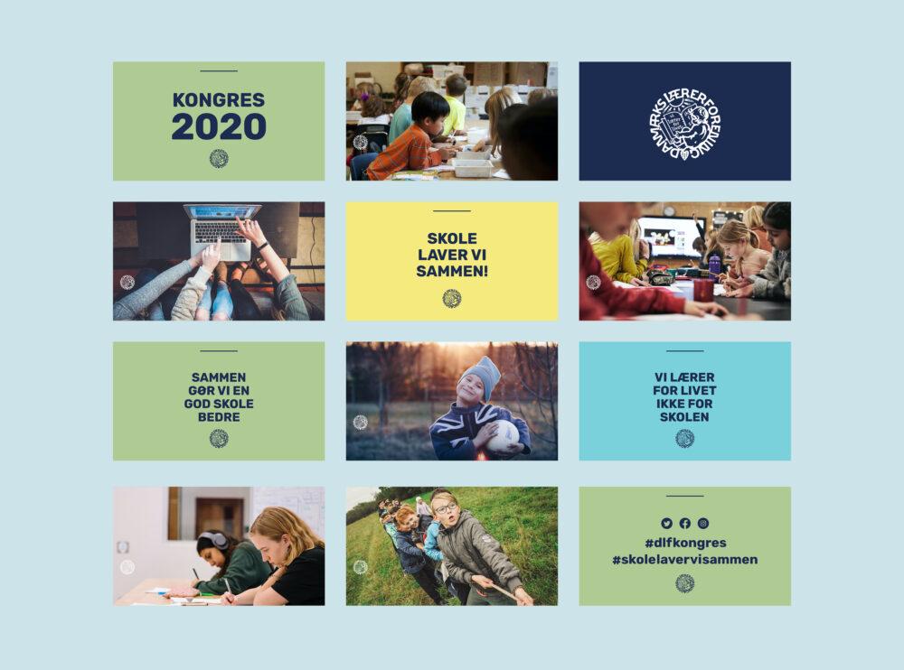 Danmarks Lærerforening Kongres 2020 PowerPoint pause slideshow