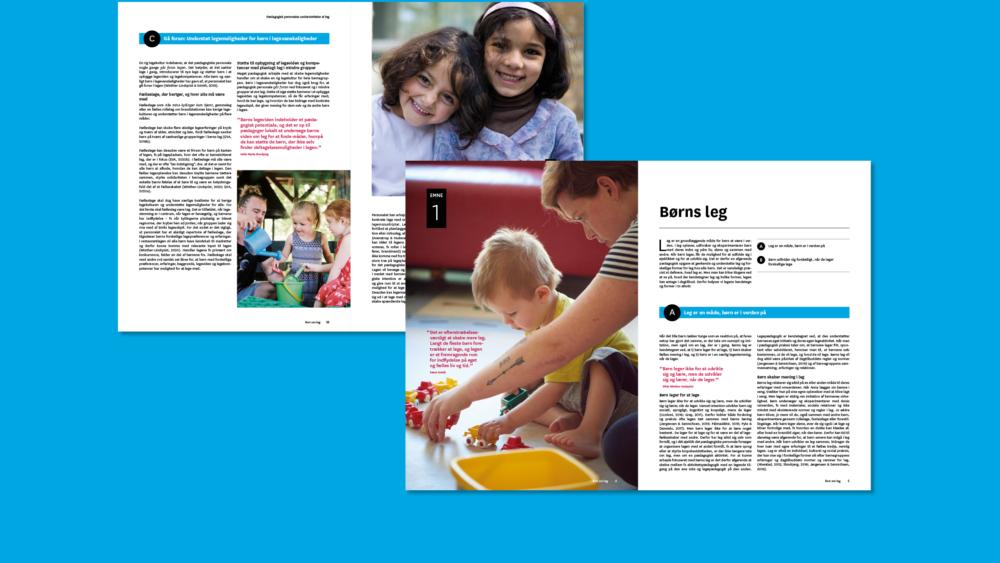 Den styrkede pædagogiske læreplan – publikationer