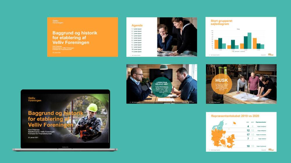 PowerPoint-præsentation til Velliv